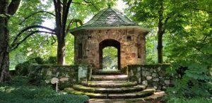 Summerhouse at Greenwood Gardens @Greenwood Gardens. By V Johnson